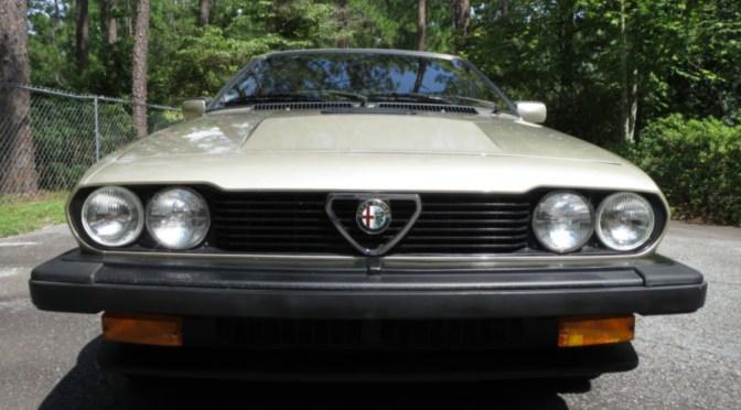 1986 Alfa Romeo GTV6 – REVISIT