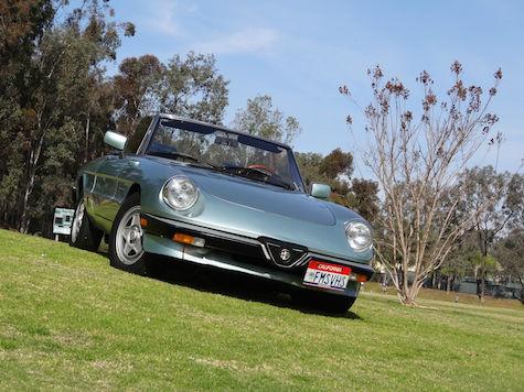 One-owner 1984 Alfa Romeo Spider Veloce