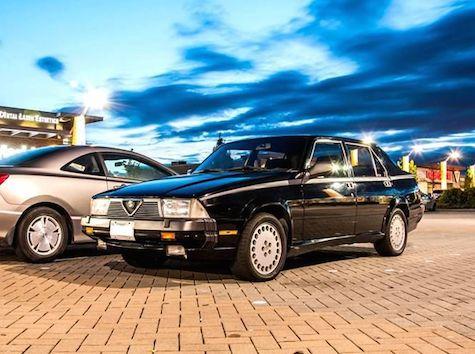 1989 Alfa Romeo Milano Verde – REVISIT