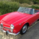 1963 Alfa Romeo 2600 Touring