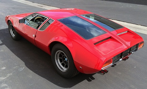 1969 de tomaso mangusta classic italian cars for sale. Black Bedroom Furniture Sets. Home Design Ideas