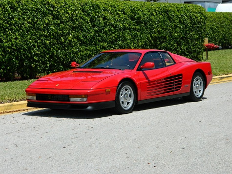 1987 ferrari testarossa classic italian cars for sale. Black Bedroom Furniture Sets. Home Design Ideas