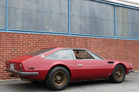 Restoration Candidate: 1971 Lamborghini Jarama 400GT