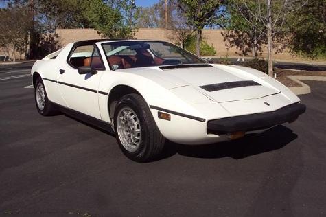 1975 Maserati Merak Targa