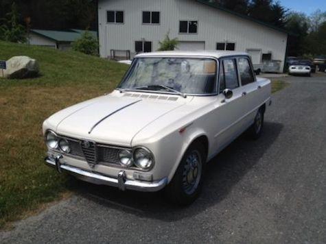 1967 Alfa Romeo Giulia TI Super