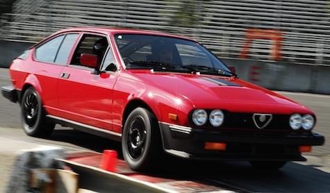 1982 alfa romeo gtv6 balocco edition classic italian cars for sale. Black Bedroom Furniture Sets. Home Design Ideas