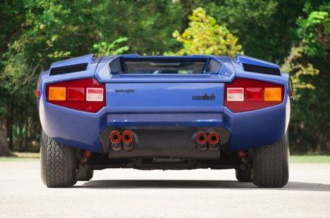 1976 Lamborghini Countach Lp400 Classic Italian Cars For Sale
