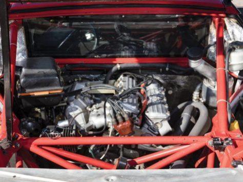 1984 Lancia 037 Stradale red engine