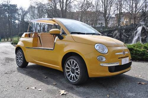 Fiat 500 Jolly Conversion Classic Italian Cars For Sale