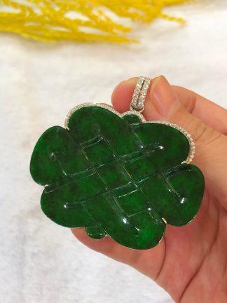 green jade mystic knot