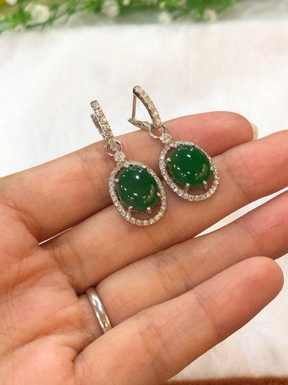 imperial jade earrings