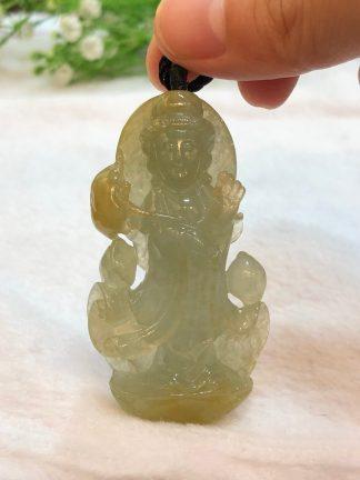 icy honey jade Guan Yin