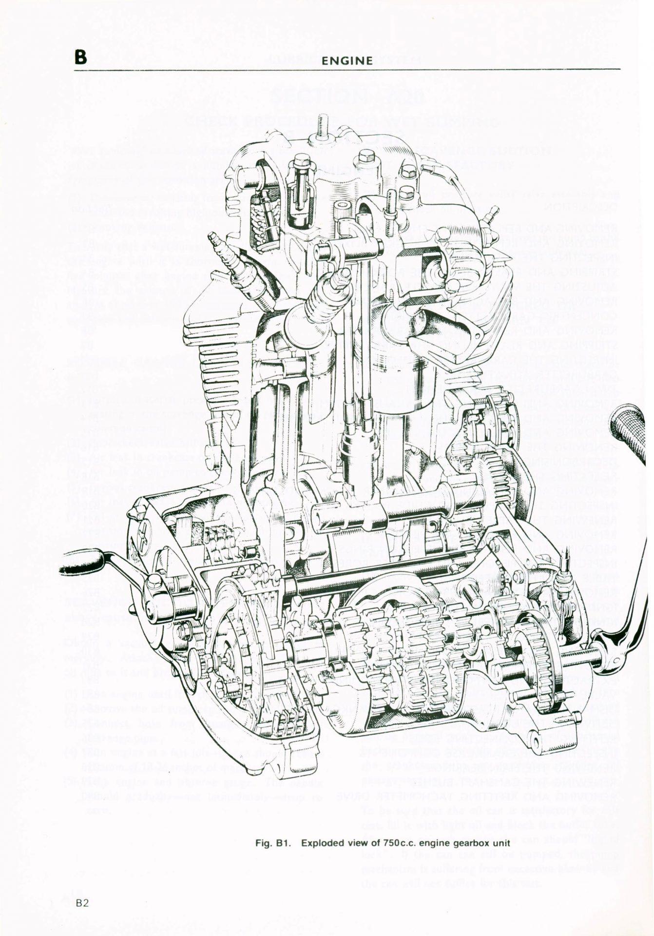 Triumph Tiger Engine Diagram