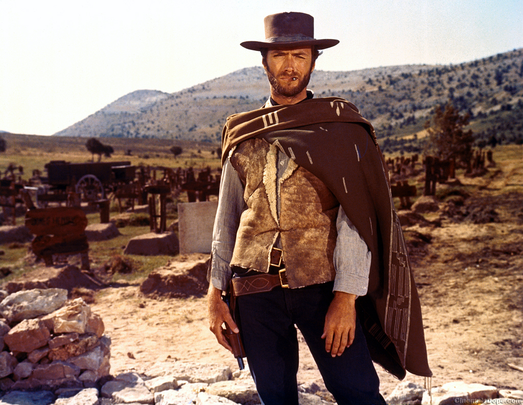 Clint Eastwood, Classic Movie Actor, The Good The Bad and The Ugly, Sergio Leone