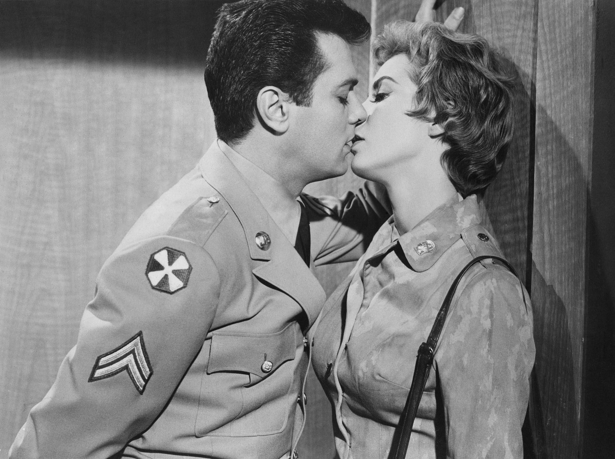 Tony Curtis and Janet Leigh in The Perfect Furlough, Classic Movie, Blake Edwards