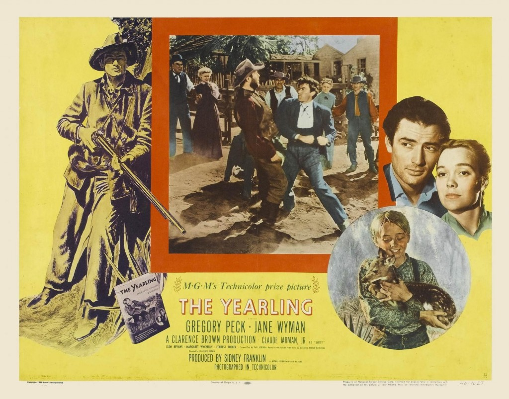 Gregory Peck, classic film, the yearling, Clarence Brown