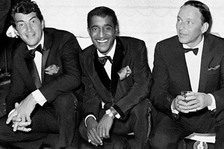 Dean Martin, Frank Sinatra, Sammy Davis Jr, Rat Pack
