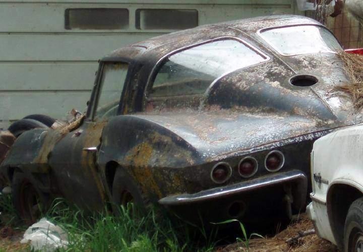 corvette barn find