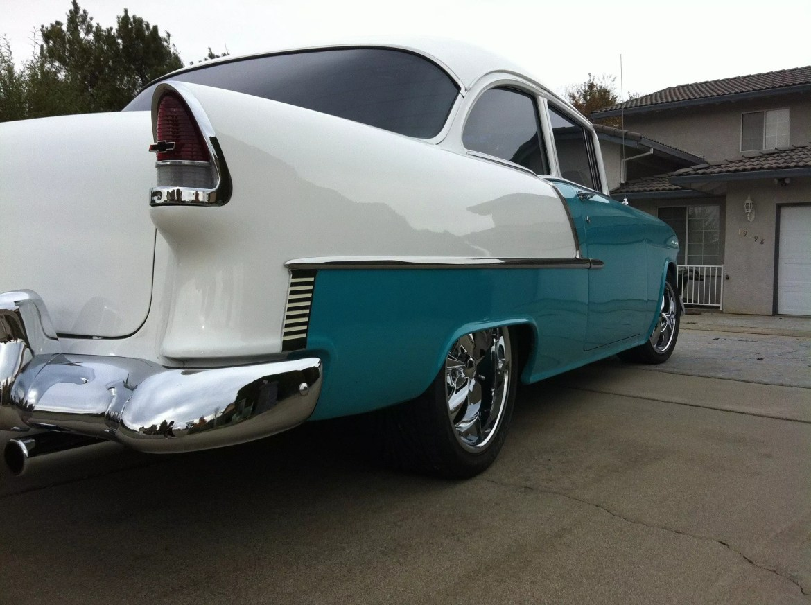 55 Chevy Bel Air tail