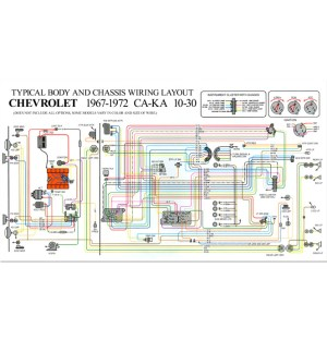 Full Color Wiring DiagramStdClassic Chevy Truck Parts