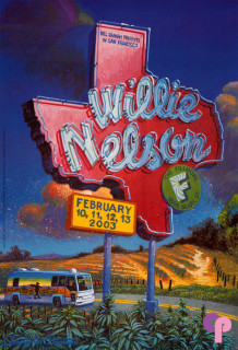 willie nelson classic posters