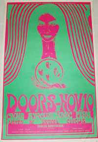 the_doors_eagles_auditorium_seattle_concert_poster
