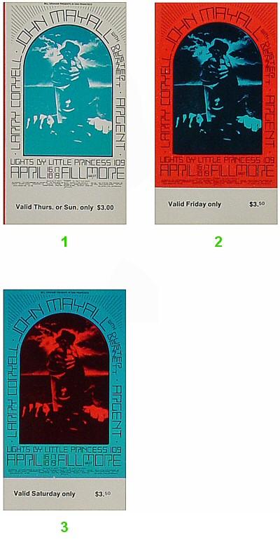 Original Concert Ticket Set
