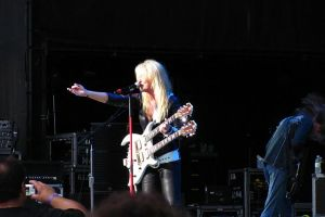 Lita Ford Slash