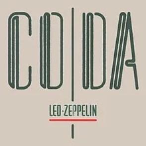 Led Zeppelin Coda Album Cover Discography