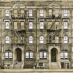 Led Zeppelin Physical Graffiti Album Cover