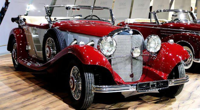 1935 Mercedes-Benz 500 K Offener Tourenwagen W 29