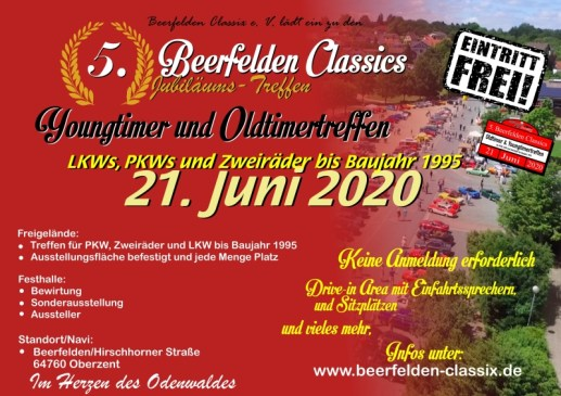 Beerfelden Clsassics 2020