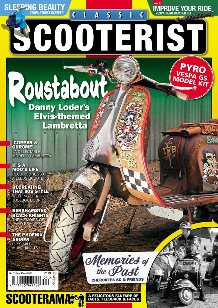 Classic Scooterist cover