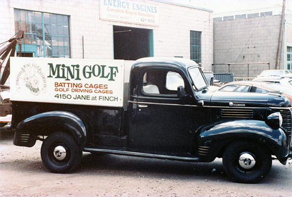 Mini Golf Old Pick Up Truck