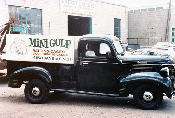 Mini Golf Old Pick Up Truck