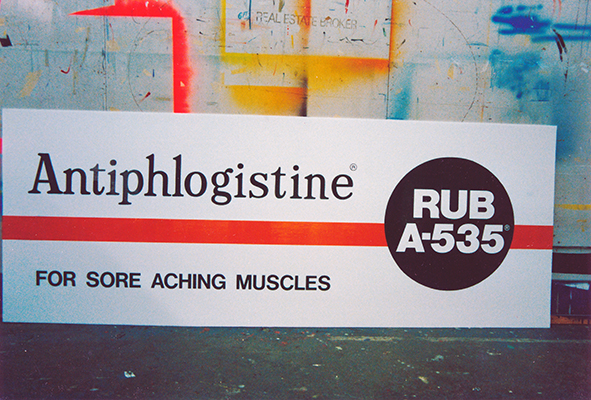 Rub A-535 Hand Painted Banner