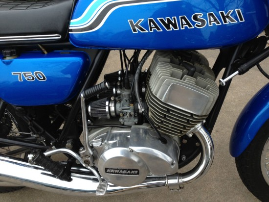1972 Kawasaki H2 750 R Engine