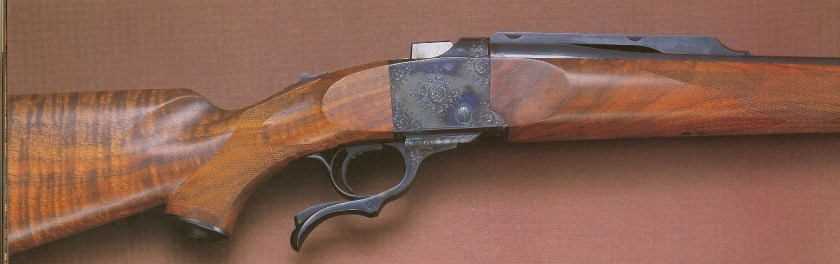 Ruger No.1 Serial #956, right Side