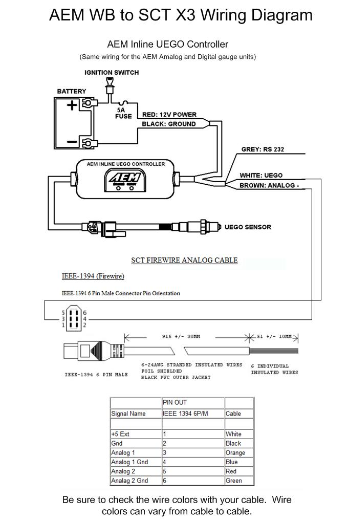 aem wideband wiring diagram - Wiring Diagram