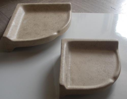 Rustic Beige Soap Dish