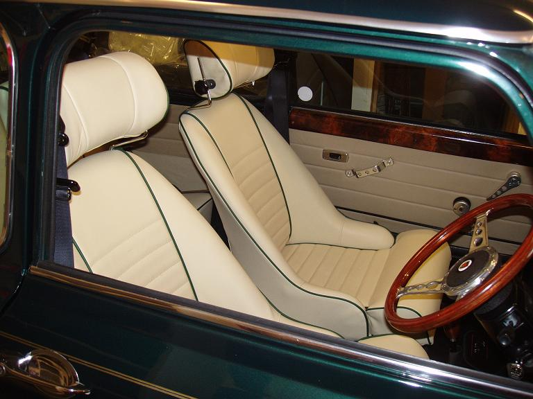 Classic Mini And Ford Interiors From