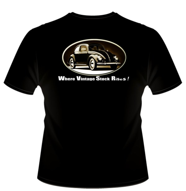 » My Classic Vintage VW Movement Beetle Bug T-Shirt ...