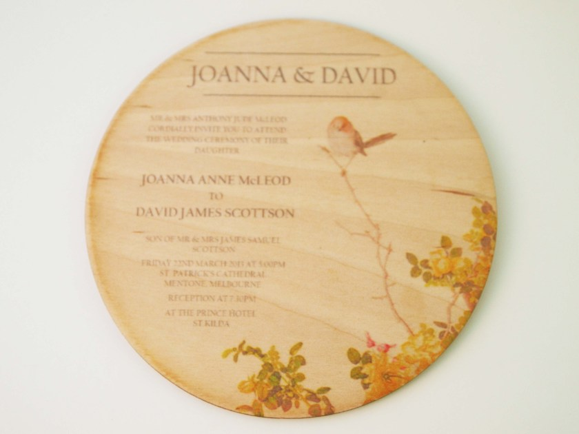 Remended Printed Pictures On Wood Buffet Contemporary Look Through A63925 Clic Wedding Invitations Digital Print