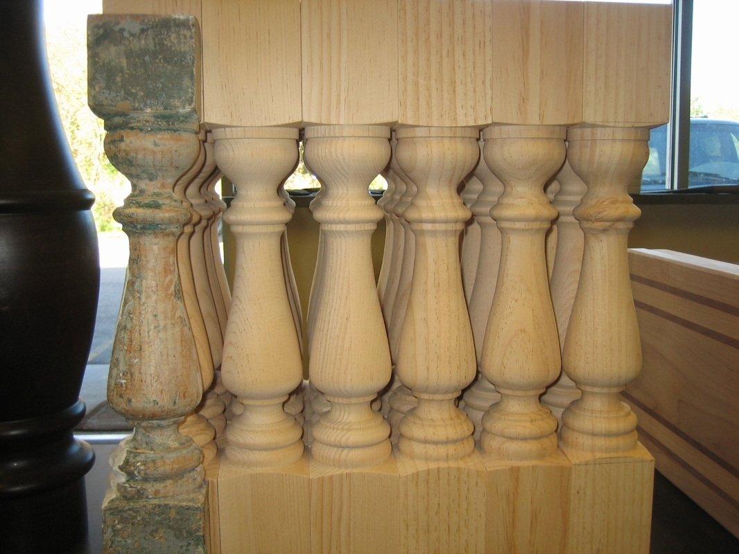 Woodturning Classic Woodworks Of Michigan Inc   Barley Twist Newel Post   Column   1930 Style   20'S   Spindle   Square