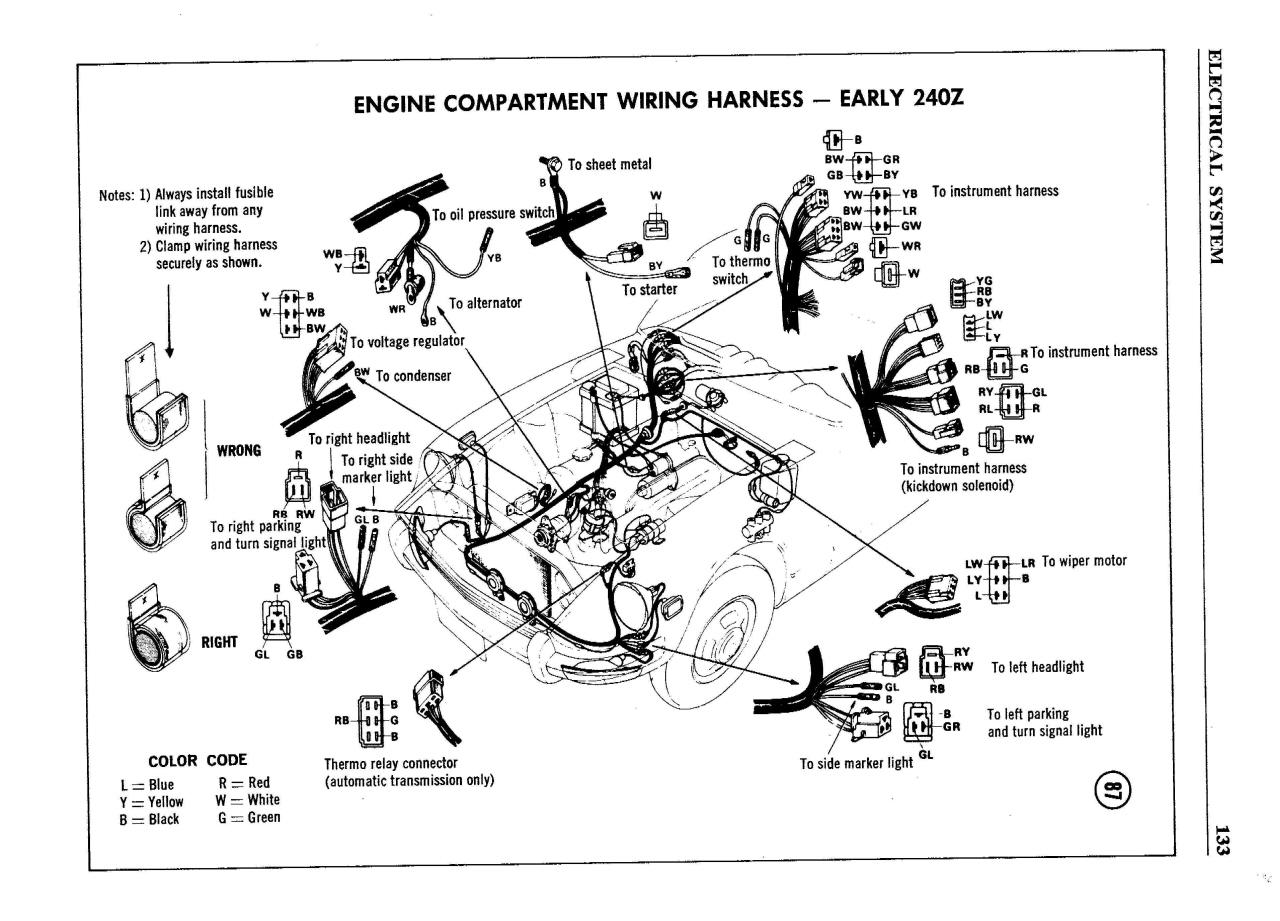 Z31 Wiring Harness Diagram
