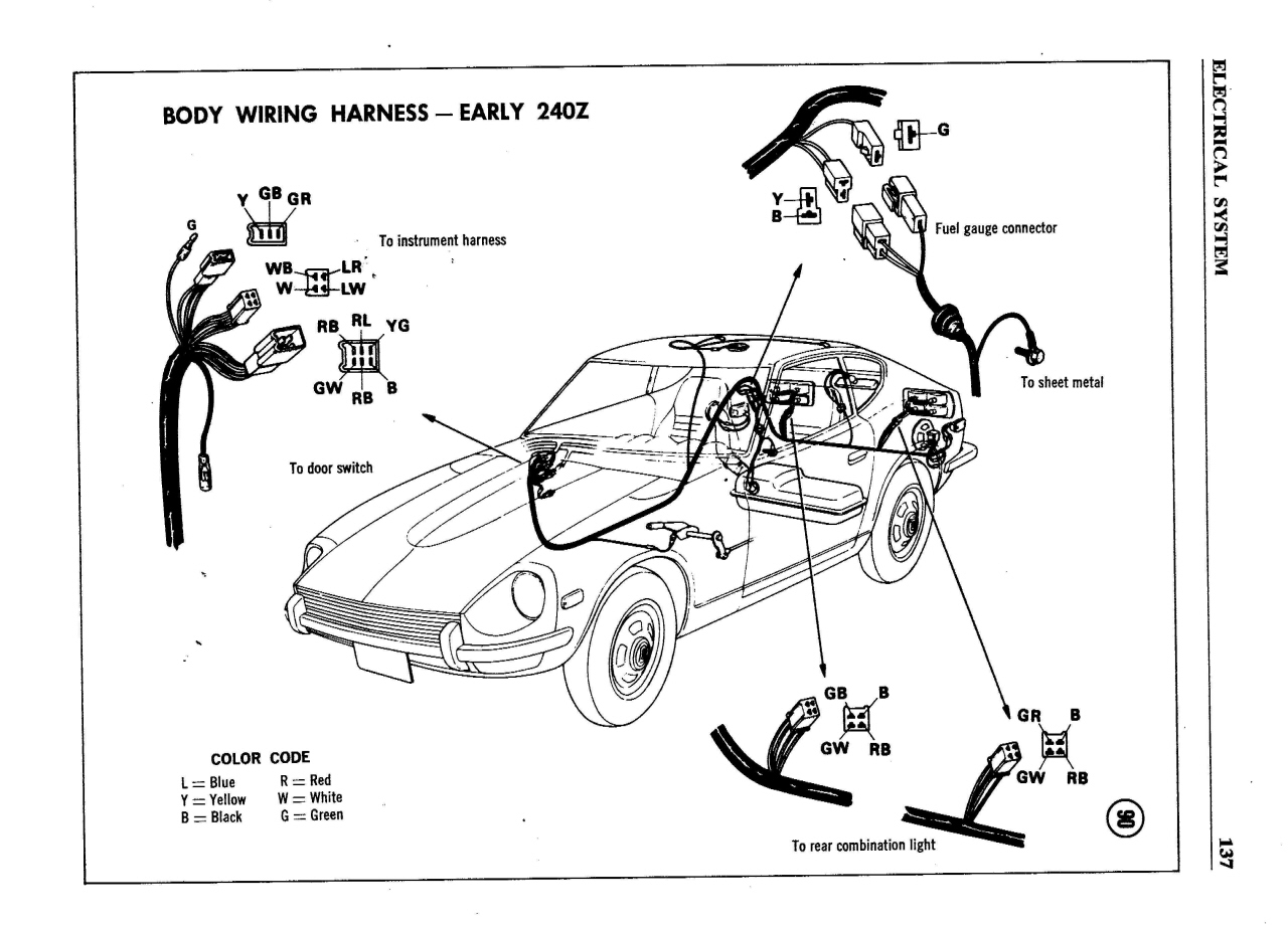 Diagram Or Schematic For 240z