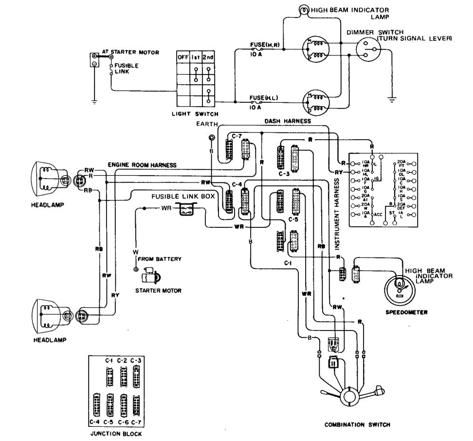 1975 280z Wiring Diagram Library