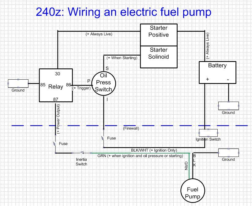 Electric Fuel Pump Install