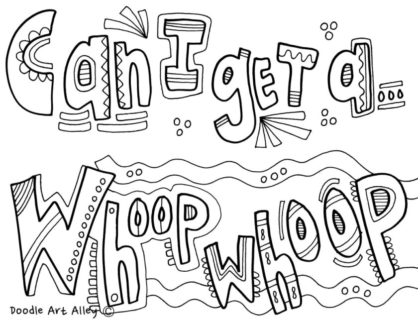 call back coloring pages  classroom doodles