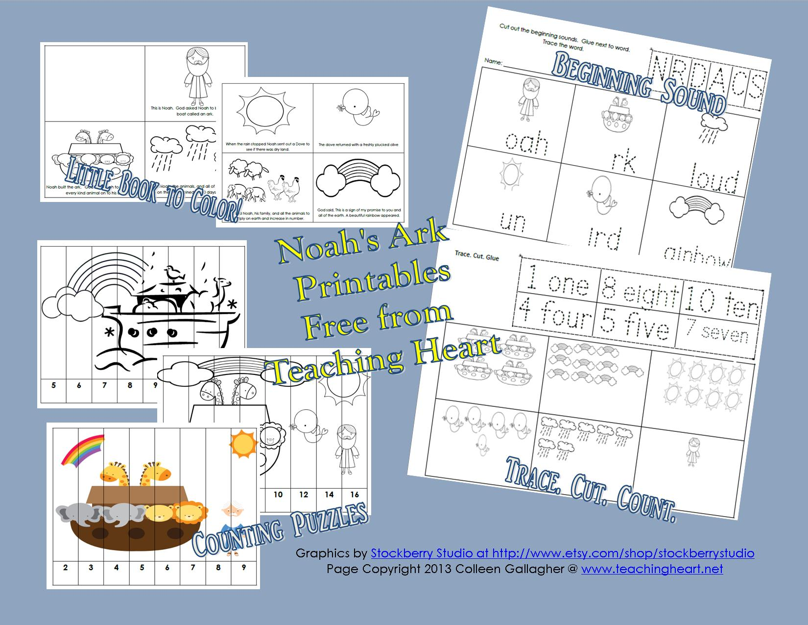Many Noah S Ark Printables